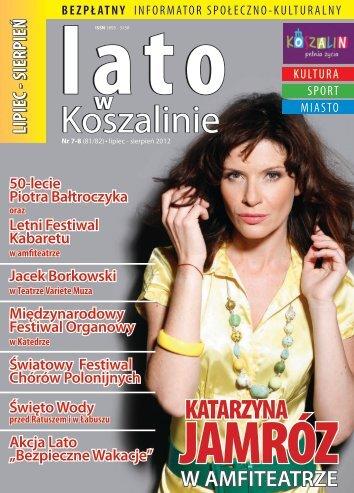 lipiec-sierpień 2012 - Koszalińska Biblioteka Publiczna - Koszalin