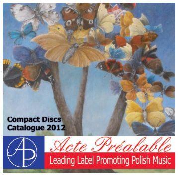 Catalogue - Acte Préalable