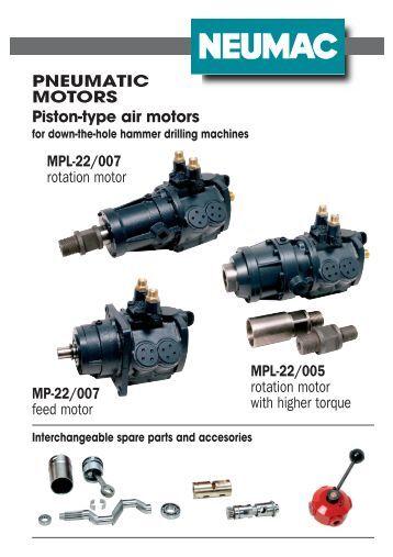 Air treatment for air motors pneumatic globe benelux for Piston type air motor