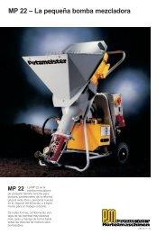 MP 22 – La pequeña bomba mezcladora - Talleres Arteijo