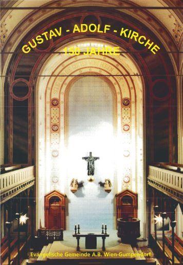 150 Jahre Gustav-Adolf-Kirche - Evangelische Pfarrgemeinde Wien ...