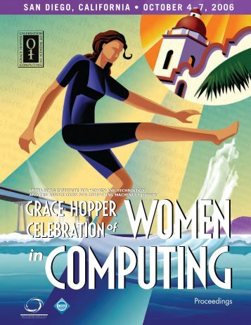 Proceedings - Grace Hopper Celebration of Women in Computing