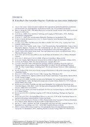 Literaturverzeichnis - Deutsche Zoologische Gesellschaft