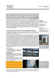 Prädiktive Regelungen und Wetterprognosen in der ... - OptiControl