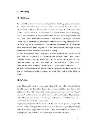 1. Einleitung - life + science