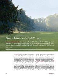 Deutschland – ein Golf-Traum - Golfclub Waldegg Wiggensbach eV