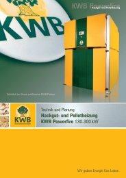 KWB Powerfire Einbaubeispiele - Jenni Energietechnik AG