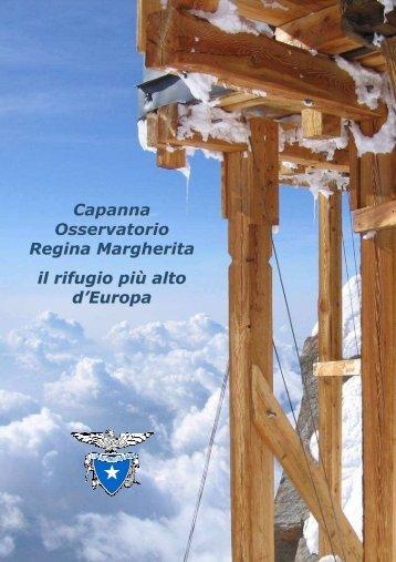 Capanna Osservatorio Regina Margherita, il rifugio più alto