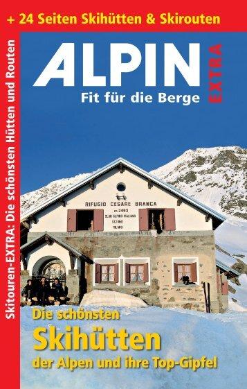 + 24 Seiten Skihütten & Skirouten Die schönsten der ... - Alpin.de