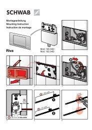 1 2 B A Montageanleitung Mounting Instruction Instruction ... - Schwab