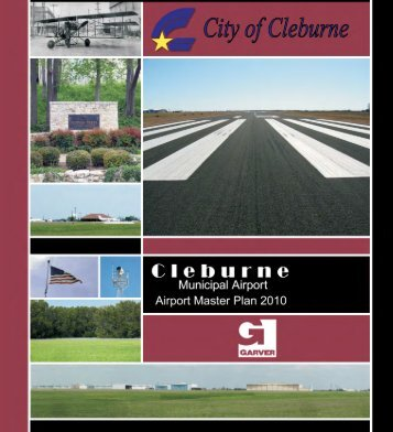 Airport Master Plan - City of Cleburne Website