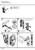 Montageanleitung Installation instructions Garnituren mit ... - HEWI - Seite 4