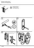 Montageanleitung Installation instructions Garnituren mit ... - HEWI - Seite 6