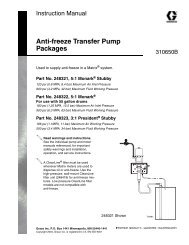 310650B Anti-freeze Transfer Pump Packages, English - Graco Inc.