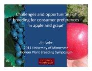Present - Applied Plant Sciences Graduate Program - University of ...