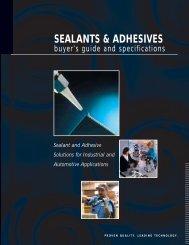 SEALANTS & ADHESIVES - CH Reed Inc.