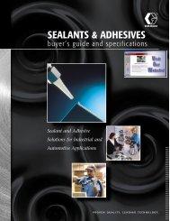 SEALANTS & ADHESIVES - Elliott Equipment Corporation