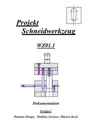 Projekt Schneidwerkzeug - G15 Hamburg