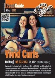 Monatsprogramm März 2013 - Live-Club