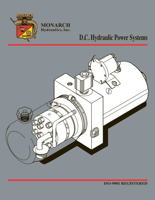 Hydraulic Systems Dc Power Units Monarch Hydraulics