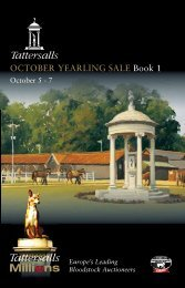Tattersalls October Yearling Sale Book 1