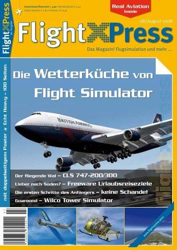 Die Wetterküche von Flight Simulator - FSHeli