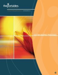Custom Graphic Processes Catalog - The Portables