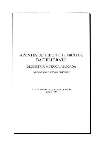DIBUJO TECNICO Y TALLER  Colegio de Bachilleres