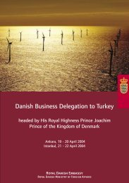 Danish Business Delegation to Turkey