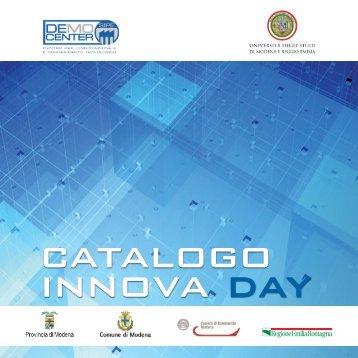 """Catalogo """"Innova Day"""" delle imprese partecipanti - Forum di ..."""
