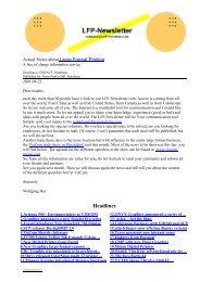 Headlines - LFP-Newsletter.com
