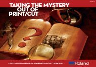 Take the Mystery Out of Print and Cut - Roland DGA Corporation