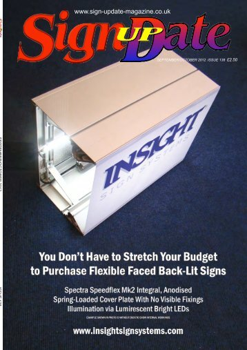 Issue 138:Sept/Oct 2012 - Sign Update