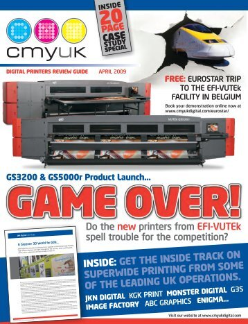 DIGITAL PRINTERS REVIEW GUIDE APRIL 2009 - CMYUK Digital