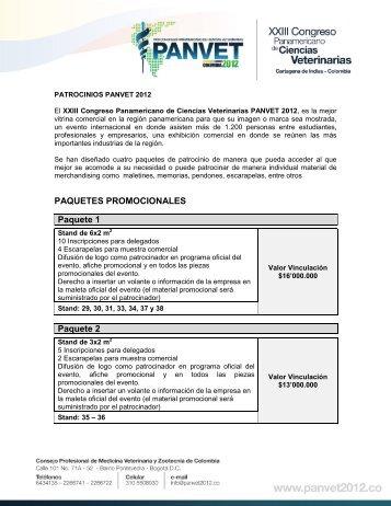 PAQUETES PROMOCIONALES Paquete 1 Paquete 2
