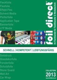 Neue Preisliste - foil direct® GmbH