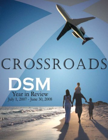 2007-2008 Annual Report - Des Moines International Airport