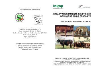 RAZAS Y MEJORAMIENTO GENETICO DE BOVINOS ... - COFUPRO