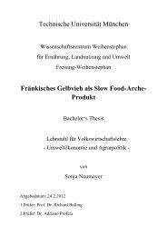 Fränkisches Gelbvieh als Slow Food-Arche