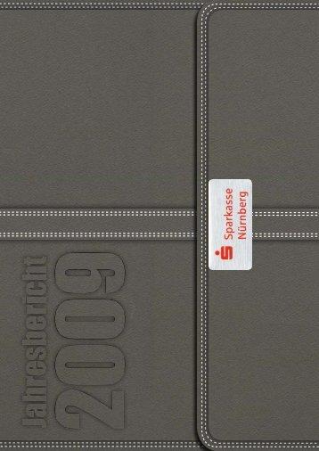 Jahresbericht 2009 - Sparkasse Nürnberg