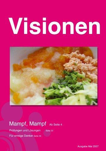 Mampf, Mampf Ab Seite 4 - Vis - ETH Zürich
