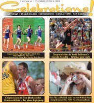 tuesday, june 9, 2009 - Courier Electronic Edition