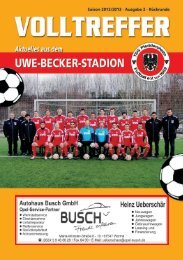 TSG-August 2005-Umschlag/D - TSG Pfeddersheim Fußball eV