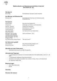 Mathematischer und Naturwissenschaftlicher Unterricht  Heft ... - MNU