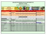 grafenwoehr quick reference phone guide - Hohenfels Community ...