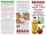 download bragg organic apple cider vinegar brochure (pdf