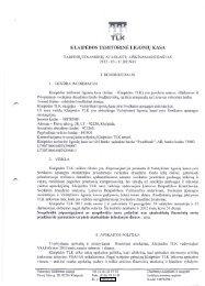 Įstaigos veikla 2012 m. I ketvirtis.pdf - Klaipėdos teritorinė ligonių kasa