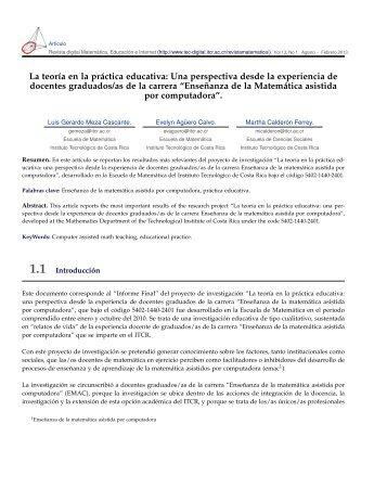 Descargar el PDF (Versión Final) - TEC-Digital
