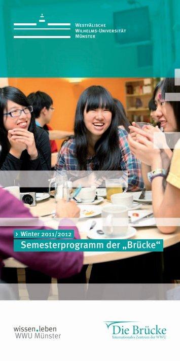 Brücke - Westfälische Wilhelms-Universität Münster