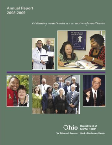 2008-2009 Annual Report - Ohio Department of Mental Health ...